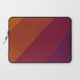 Square Abstract Gradient Art Laptop Sleeve