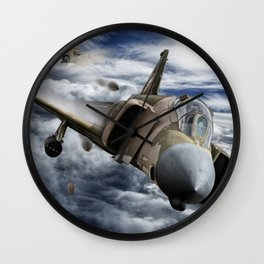 Mig at six !!! Brake left !!! Wall Clock
