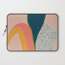 Colorful Abstract Textures Laptop Sleeve