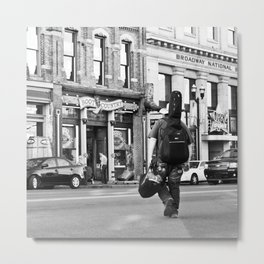 Crossing Broadway Metal Print