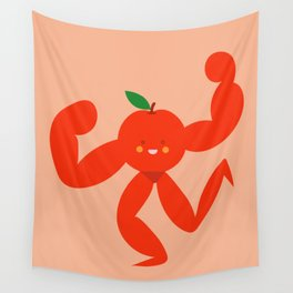 An Apple a day Wall Tapestry
