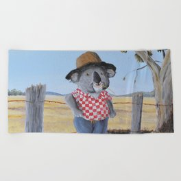 Aussie Koala Beach Towel