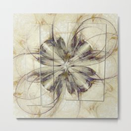 Groundlessness Balance Flowers  ID:16165-144053-72851 Metal Print