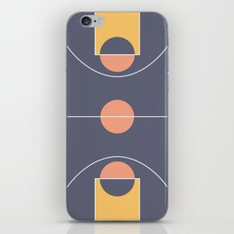 Hype court 2 iPhone Skin
