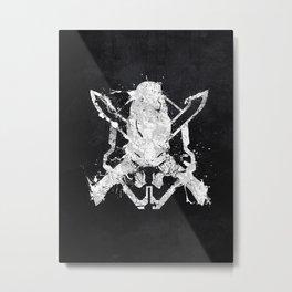 Halo Legendary Metal Print