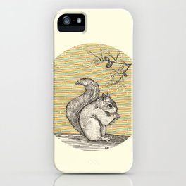 A squirrel iPhone Case