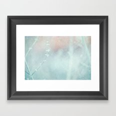 The Glow Framed Art Print