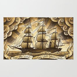 Sailing Winds Rug