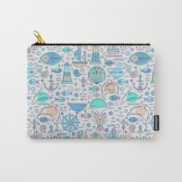 Sea pattern no1 Carry-All Pouch