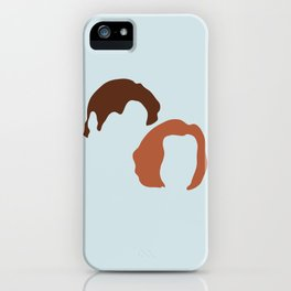 Mulder and Scully, X-Files iPhone Case