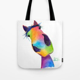 Happy Horse ' HaPPY G & T ' by SHiRLeY MacArTHuR Tote Bag
