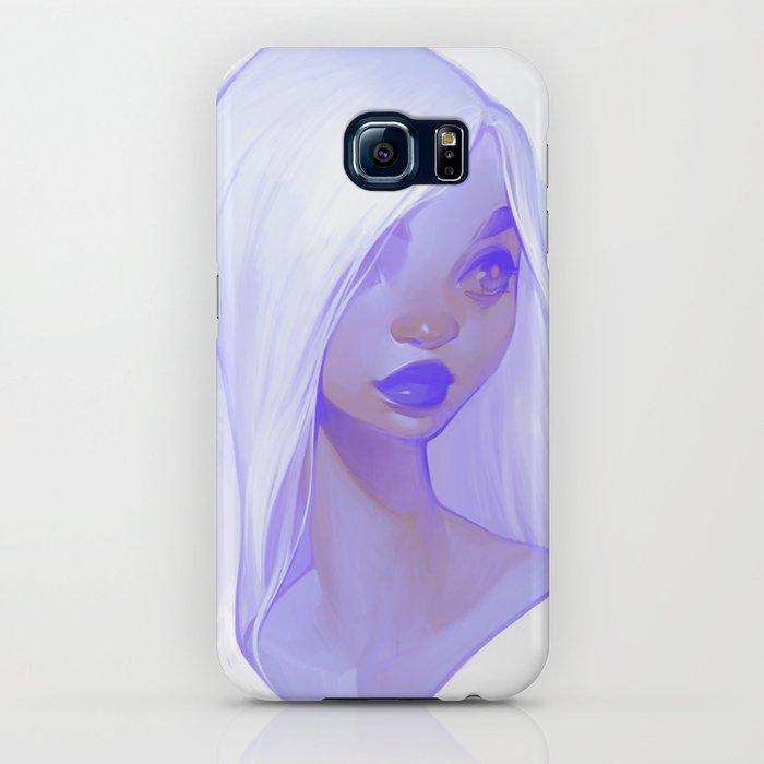 visage - lilac iphone case