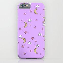 Cute Kawaii Fairy Kei Sailor Moon Bedspread iPhone Case