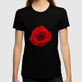 Think Flowers - Red Rose T-shirt