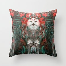 The Owls are Beautiful Throw Pillow