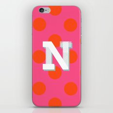 N is for Nice iPhone & iPod Skin