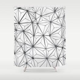 Organic Web Four Shower Curtain