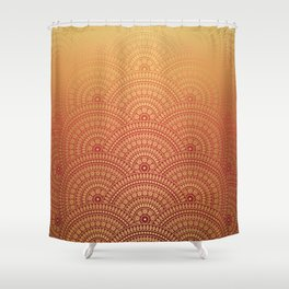 Sunset Mandala Shower Curtain
