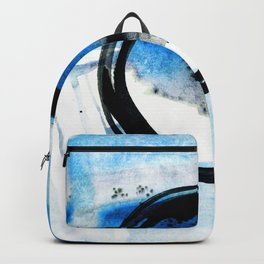 Enso Abstraction o. 113J by Kathy Morton Stanion Backpack