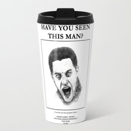 """""""Twin Peaks"""" - Have you seen this man? Travel Mug"""