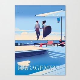 Engagement Canvas Print