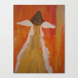 "Angel Painting, ""Singing Praises"" Canvas Print"