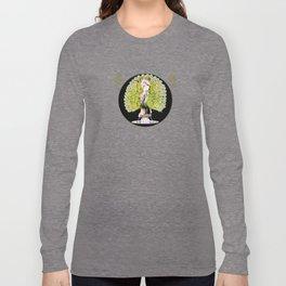 Art Deco Diva Rivalry Long Sleeve T-shirt