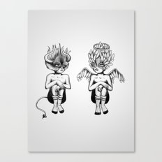 Good or Bad? Canvas Print