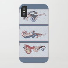 Superhero Pinup Trio (Stark Spangled Winter) Slim Case iPhone X