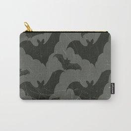 ANTIQUE  SHABBY CHIC  BATS ART DESIGN Carry-All Pouch