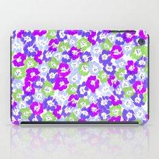 Morning Glory - Violet Multi iPad Case