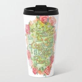 Permission to blossom Travel Mug