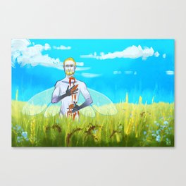 Dead Once Upon A Time Canvas Print