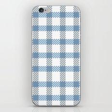 Tattersall Inspired - Blue/Grey iPhone & iPod Skin