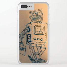 Guido is shitty Clear iPhone Case