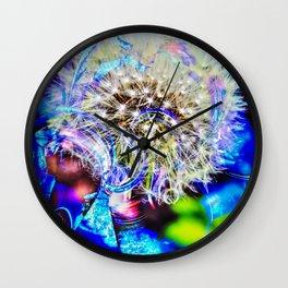 Abstract - Perfektion - Pusteblume Wall Clock