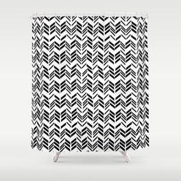 Teepee hut Shower Curtain