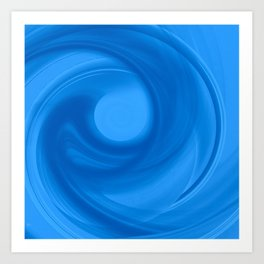 Daydreams of Blue Art Print