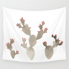 Prickly Pear Cactus Wall Tapestry