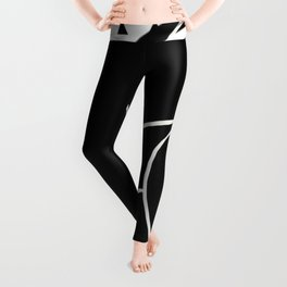 Lined - small triangle graphic Leggings