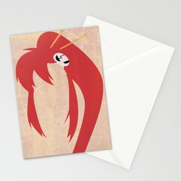 Minimalist Yoko Stationery Cards