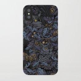 Fit In (moonlit blue) iPhone Case