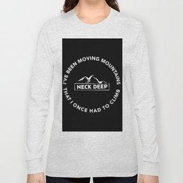 neck deep Long Sleeve T-shirt