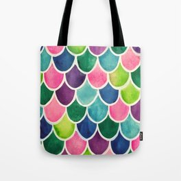 This Mermaid Life Bright by Andrea Tote Bag