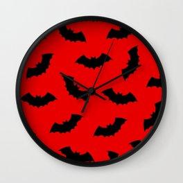 Vampire Bats Wall Clock