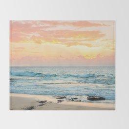 Honolulu Sunrise Throw Blanket