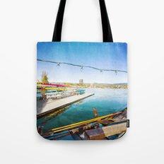 Lake Merritt Gondola Tote Bag