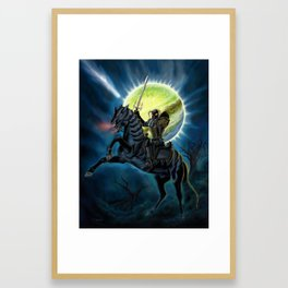 Heavy Metal Knights Framed Art Print