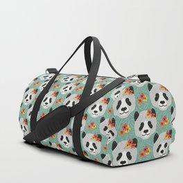 Tropical Panda Duffle Bag