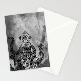OctiMan Goes Dark Stationery Cards
